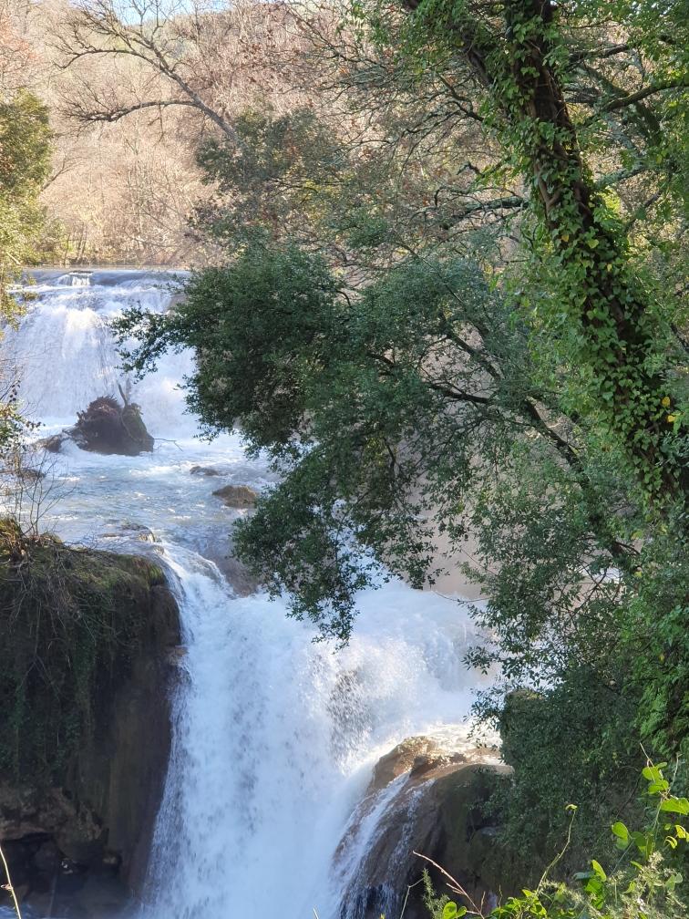 Les chutes et cascades